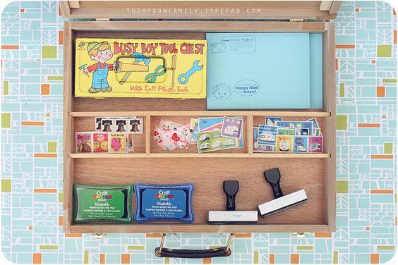 Letter Box Writing Set For Kids Children Pinterest