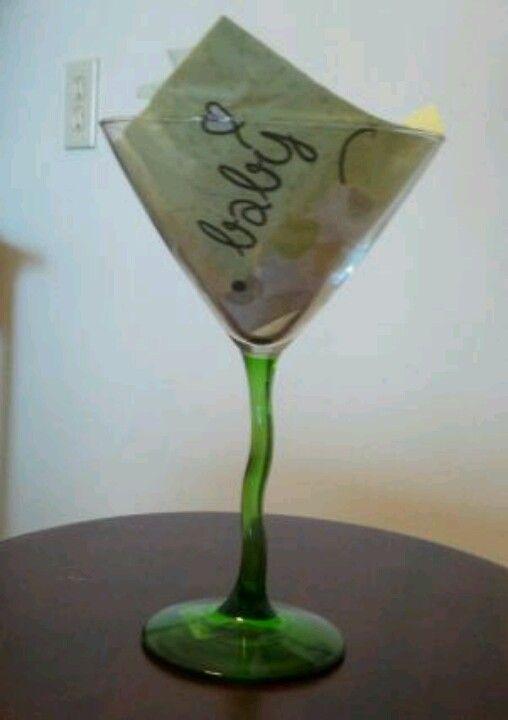 Baby Shower Favors At Dollar Tree ~ Co ed baby shower favor diy dollar tree martini