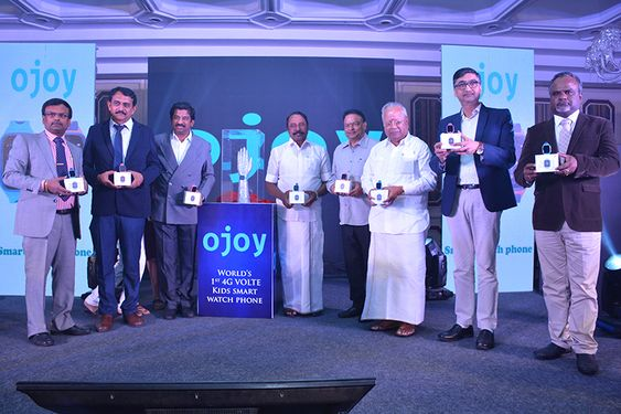 OJOY launches India's first 4G VoLTE Kids smart watch phone