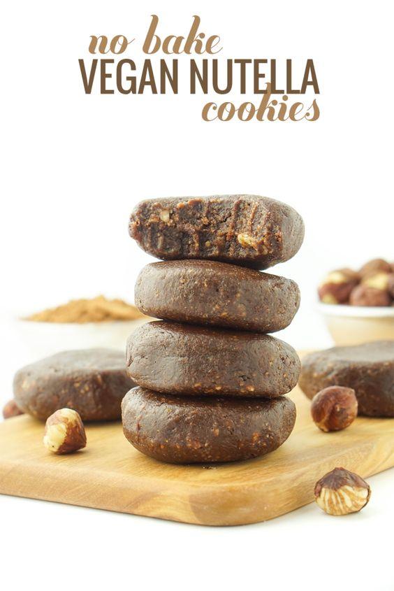 Raw Chocolate Hazelnut Cookies! Vegan, gluten-free, peanut-free! #healthy #vegan…