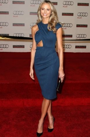 Stacy Keibler shares diet and fitness tips