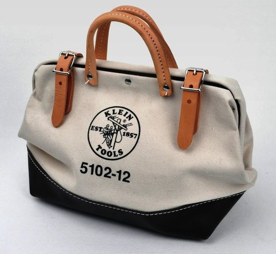 Canvas Tool Bag by Klein Tools