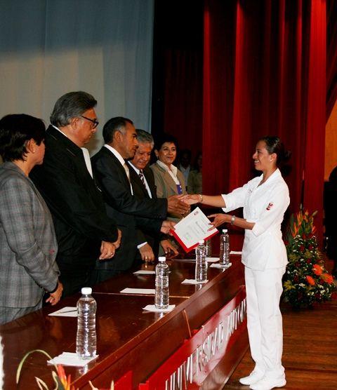 Egresó la Generación 2013-2014  de la Licenciatura en Enfermería y Obstetricia de la UAT            Concluyeron su formación 74 nuevos enfermeros a través del  Sistema de Universidad Abierta (SUA)