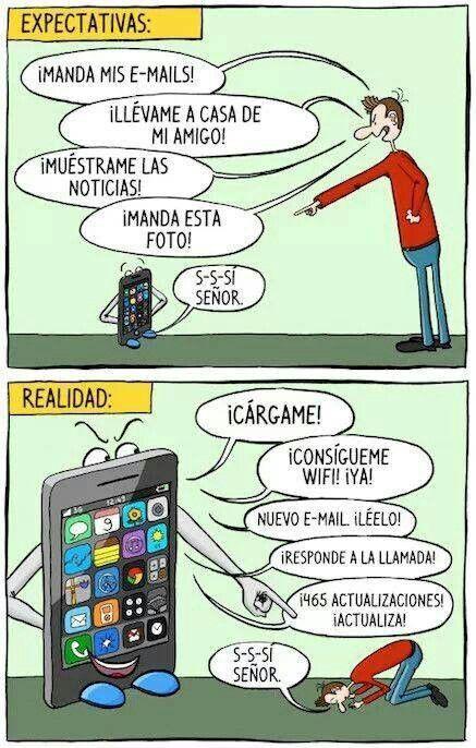 Tu smartphone y tú.