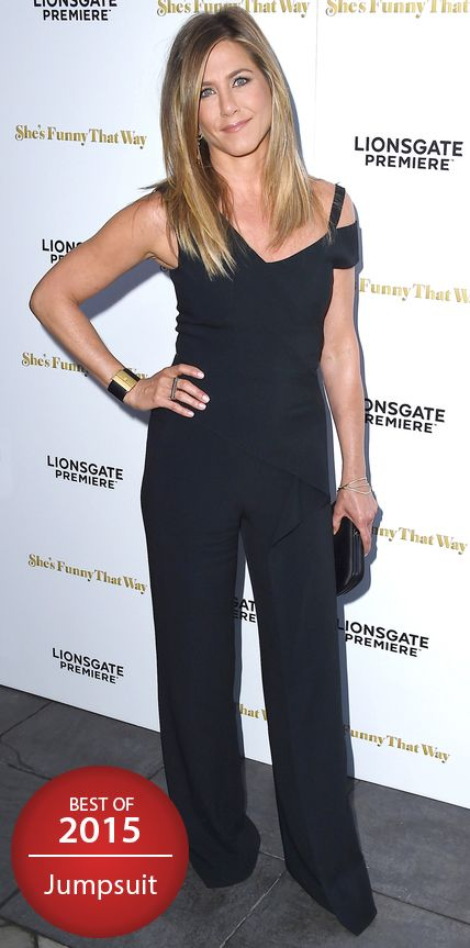 Look of the Day - Jennifer Aniston  - from InStyle.com
