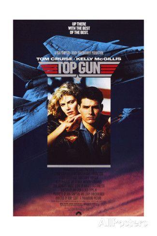 Top Gun - Movie Poster Reproduction Print at AllPosters.com