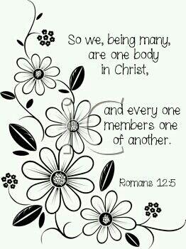 Romans 12:5 KJV