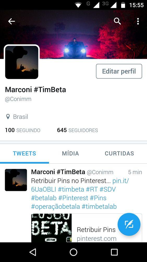 Segue lá no Twitter @Conimm