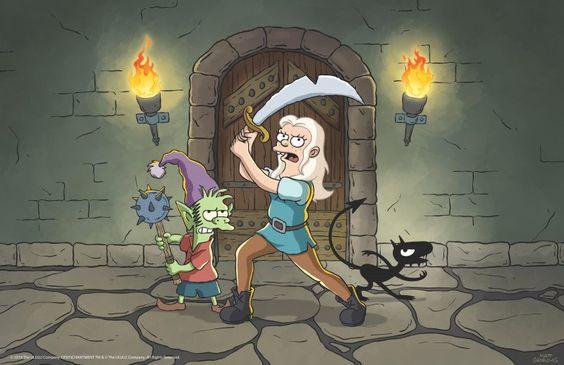Netflix Reveals Launch Date for Matt Groenings Disenchantment