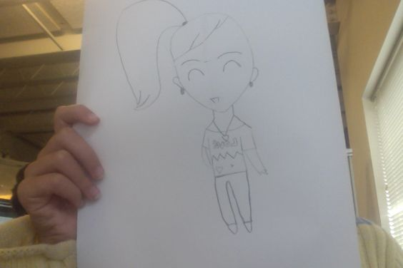 A cute chibi I drew. Comment name ideas for her plz