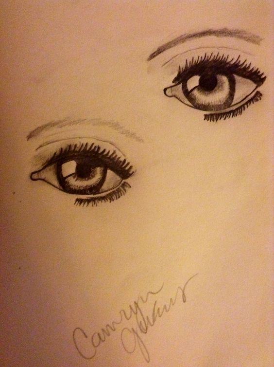 I draw when I'm bored