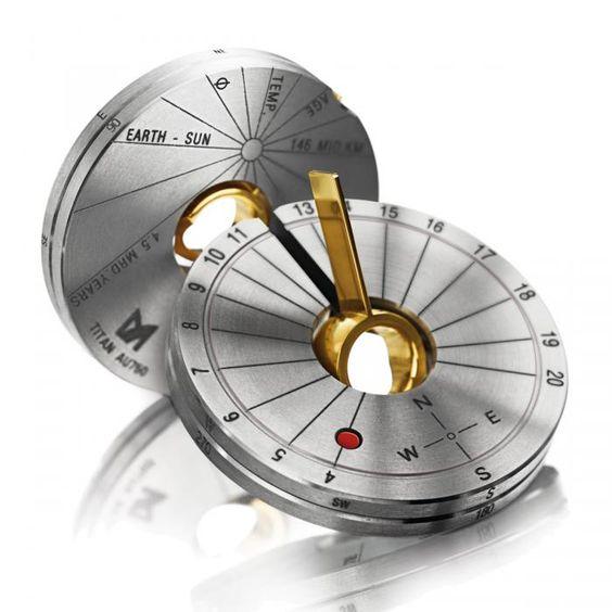 MEISTER Anhänger-Amulette 403 - Mens-Collection Titan/Gelbgold | MEISTER