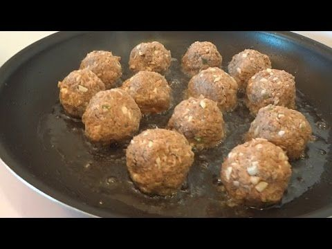 Canned Mackerel Recipe - Italian Meatballs - YouTube