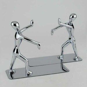 2 Suportes para livros Homens Trabalhando