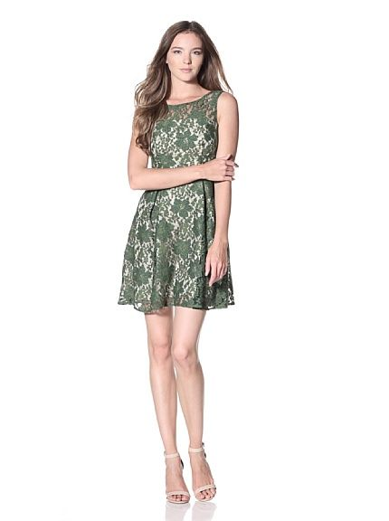 Eva Franco Women's Mabel Sleeveless Lace Dress