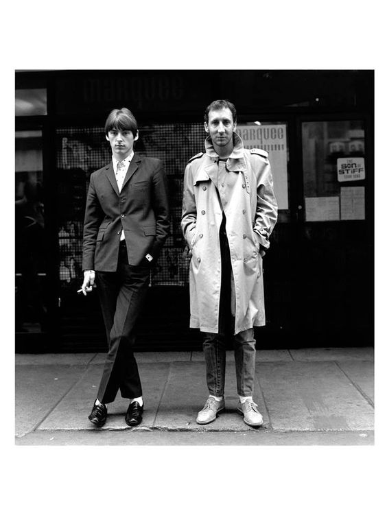 Paul Weller and Pete Townshend