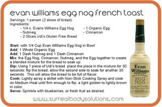 EGG NOG FRENCH TOAST French toast recipes, Eggs and French