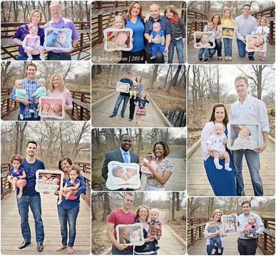 Then&now-Mini-Sessions. Perfect for Tiny Footprint Project Families!