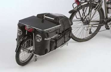 We will not apologize for the recent proliferation of bike trailer news here at Treehugger.  With the eco-and health benefits that bicycles contribute to society, their sustainability is such that one can endorse ownership of a collection.  Just as a