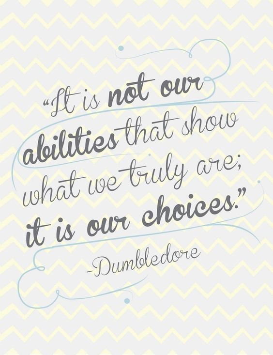 Isn't that the truth :) choices choices choices! ALL about choices. I can proudly say in my adult life I have ALWAYS made choices that were in good character and I am proud of that.: