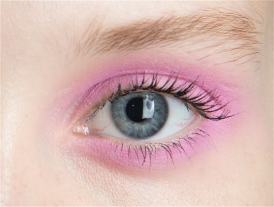 Makeup at Jill Stuart Spring 2016