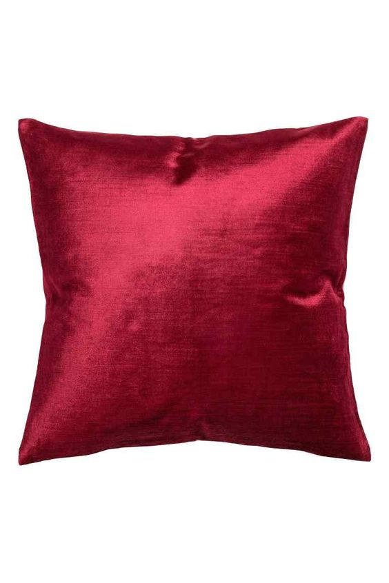 Capa de almofada em veludo: Capa de almofada em veludo de mistura de algodão e…