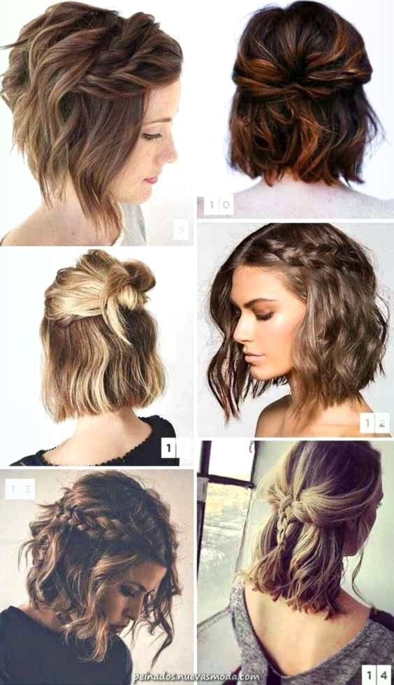 Grandioso Romanticos Peinados De San Valentin Para Pelo Corto Para Ti En 2019 Echa Un Vista Braids For Short Hair Valentines Hairstyles Medium Hair Styles