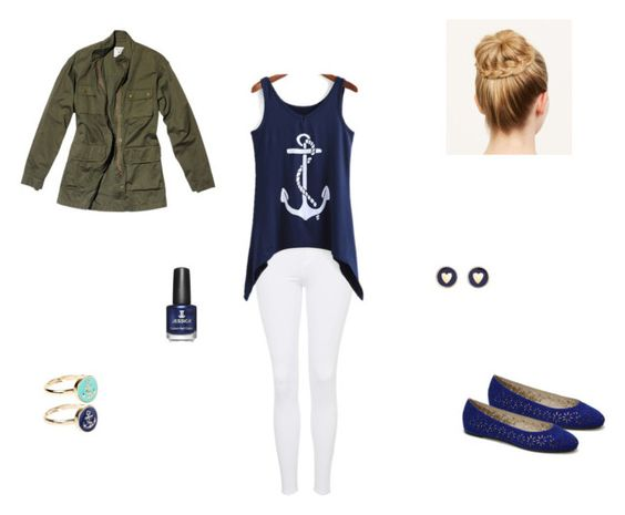 """cute and causal"" by emilyk217 ❤ liked on Polyvore"