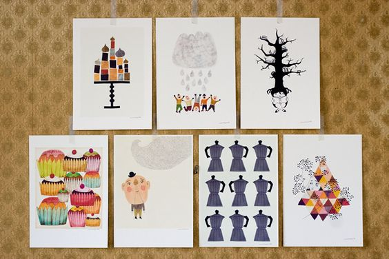 pretty prints by a blogger i love