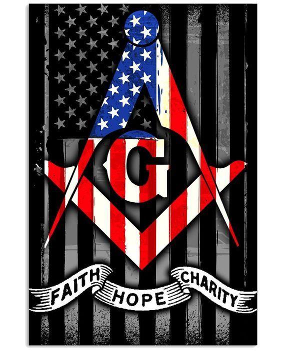 Happy 4th of July America ????????   Masonic symbols, Masonic art, Freemasonry