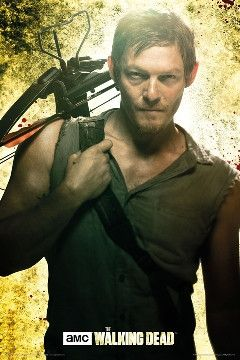 The Walking Dead Daryl Poster (Season 5)