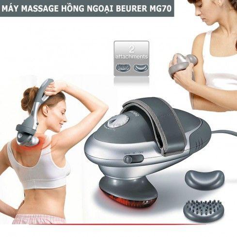 Beurer MG70 là máy massage 2 đầu dễ sử dụng
