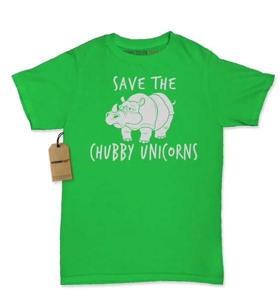 Save The Chubby Unicorns Rhino Womens T-shirt