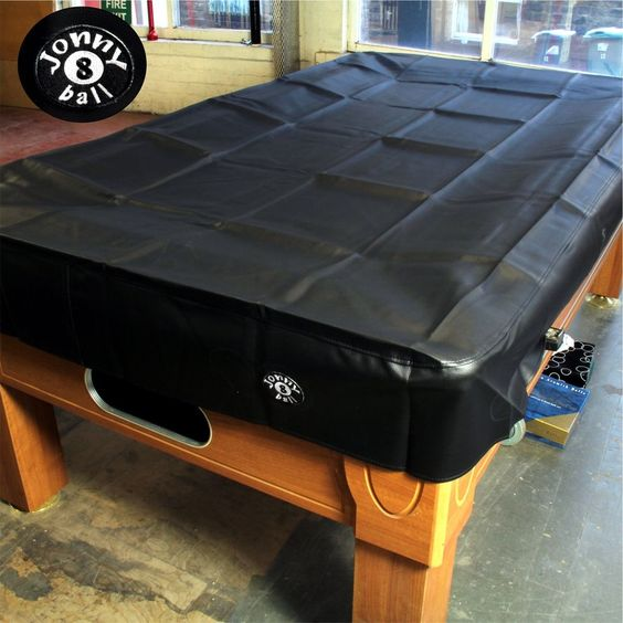 Jonny 8 Ball Heavy Duty Water Resistant Pool Table Cover - 6FT BLACK in Sporting Goods, Snooker & Pool, Table Covers   eBay