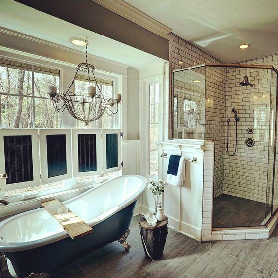 Retro Chic Bathroom Designed In Our Richmond Design Center Interiordesign Bathroomdesign Mosaictile