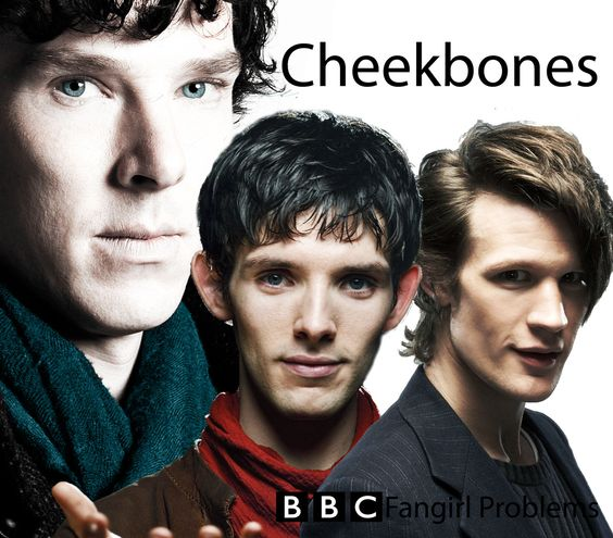 The BBC has an abundance of cheekbones
