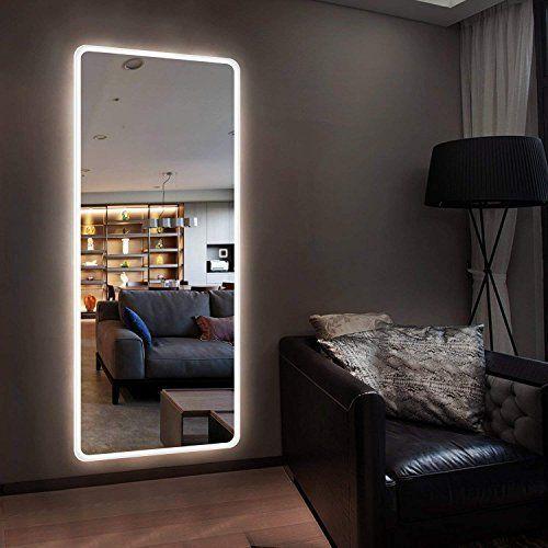 Hans Alice Large Rectangular Bathroom Mirror Wall Mounted Wooden Frame Vanity Mirror Alice Ba In 2020 Mirror Wall Decor Bedroom Mirror Wall Bedroom Dressing Mirror