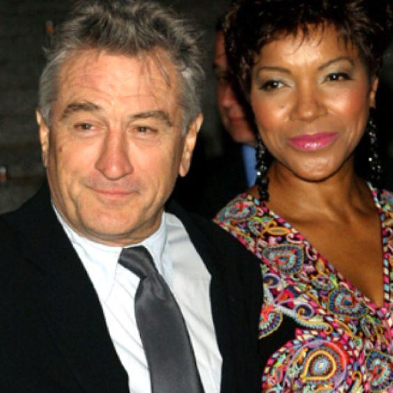 Robert De Niro and wife Grace Hightower.   Cool couples ...
