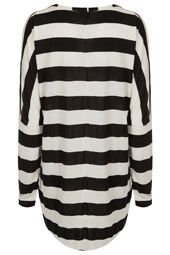 Maternity Wide Stripe Top