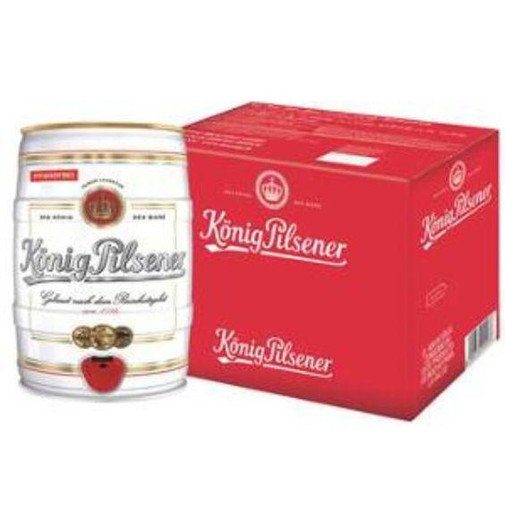 Bia Konig Pilsener 4,9% - Bom 5l - Bia Nhập Khẩu