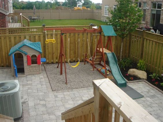 Now this is a creative idea for a children 39 s playground for Garden design ideas toronto