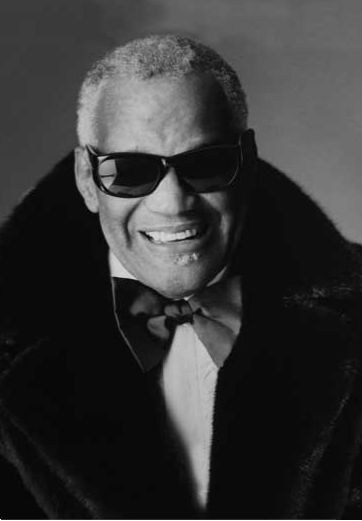 Ray Charles - American singer-songwriter, musician and compose ....... He really was a genius