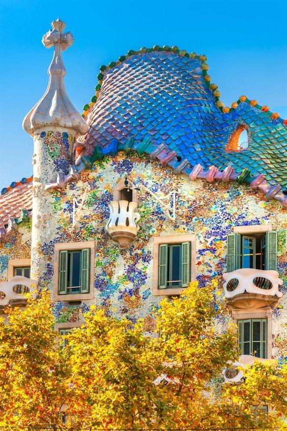 Casa Battló, Barcelone - Catalogne (Espagne)