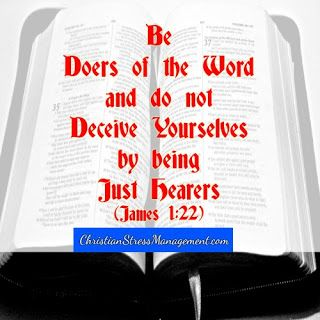 Image result for picture be doers of the Word Bible