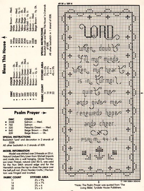 Cross Stitch Scripture Bookmarks - Bing Images: