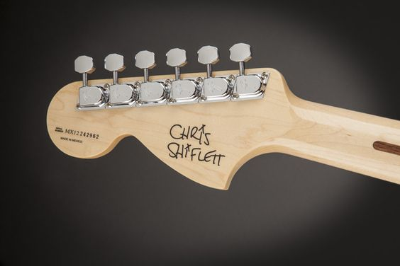 Introducing Nate Mendel & Chris Shiflett Fender Signature Models