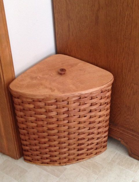 Hey, I found this really awesome Etsy listing at https://www.etsy.com/listing/176372837/amish-handmade-small-corner-hamper