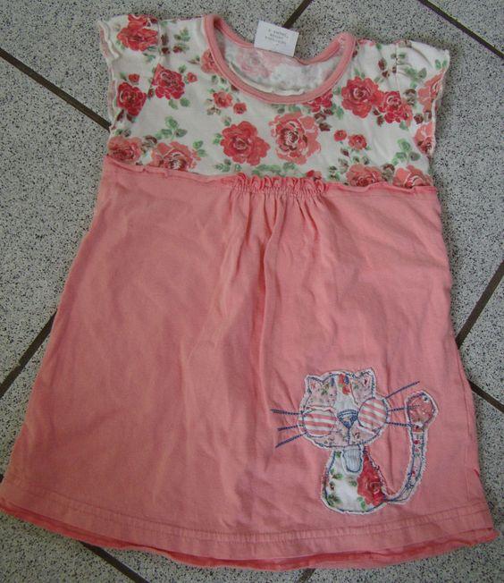 NEXT Kleid Gr.68-74 Stickereien superniedlich kaum getragen! | eBay