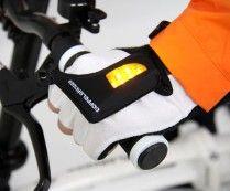 LED Turn Signal Bike Gloves