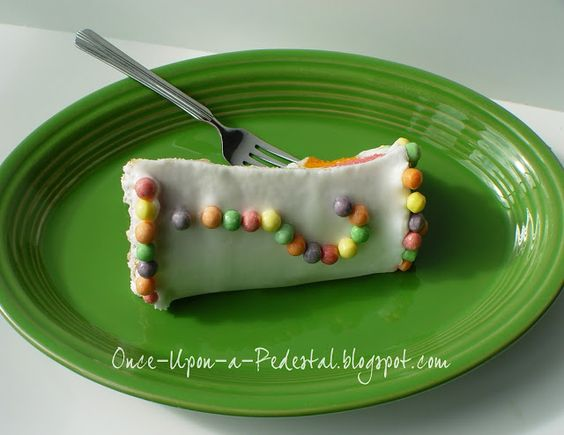 Once Upon A Pedestal: Surprise Inside Cake - Hidden Polka Dots from Bake Pop Pan